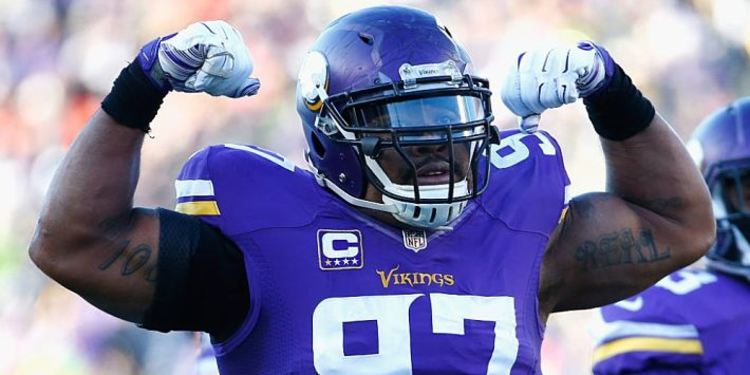 Minnesota Vikings' player Everson Griffen