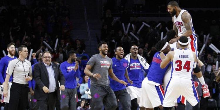 Detroit Pistons preseason