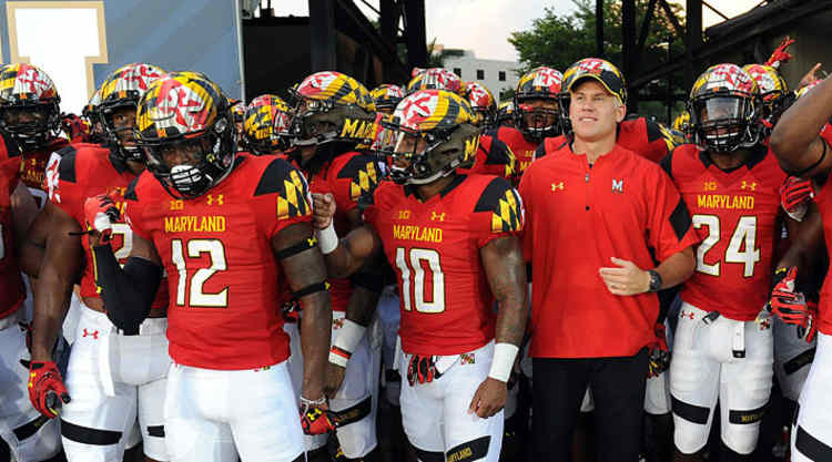Maryland Terrapins Get Ready To Take The Field