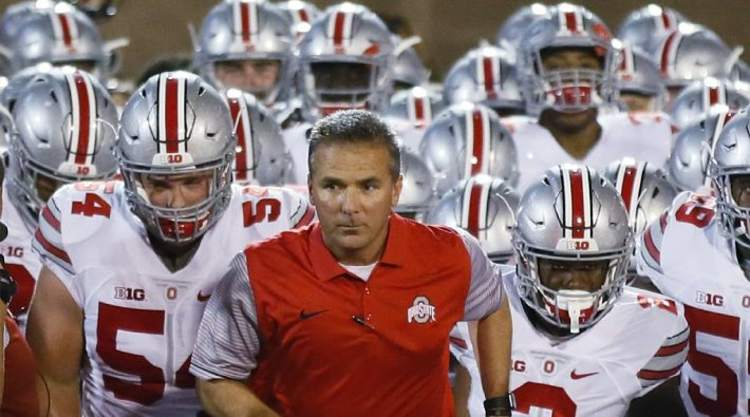 Urban Meyer Looks Intense
