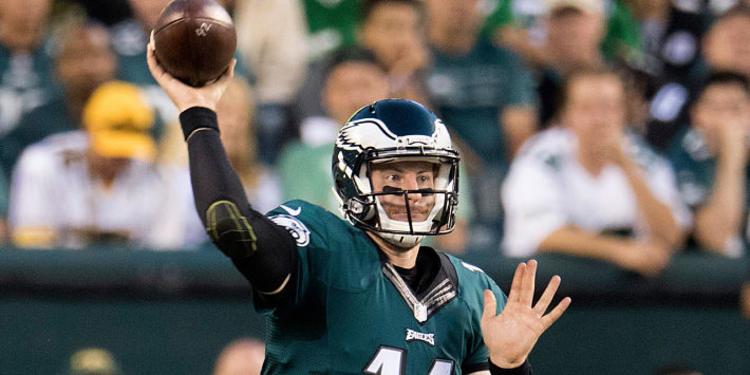 Carson Wentz, QB, Philadelphia Eagles