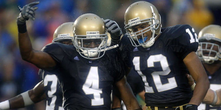 notre dame fighting irish players