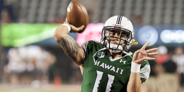 Hawaii Warriors Quaterback