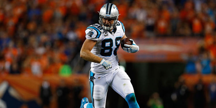 Carolina Panthers' TE Greg Olsen
