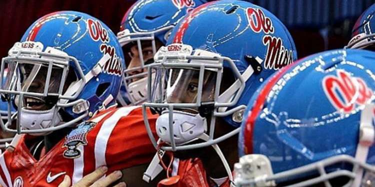 Ole Miss' Blue Helmets