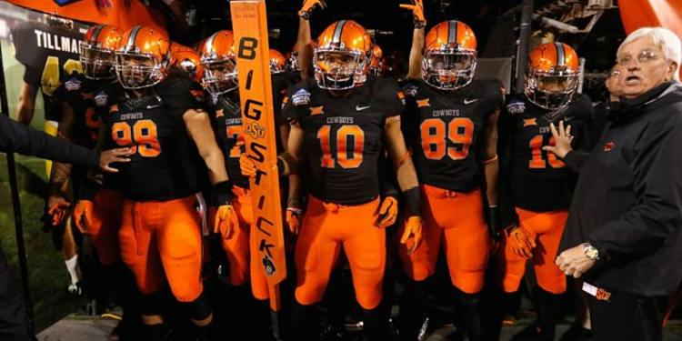Oklahoma State Cowboys Get Ready To Take The Field
