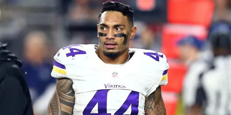 Matt Asiata waiting to go in the field