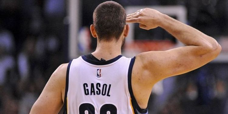 Memphis Grizzlies player Marc Gasol