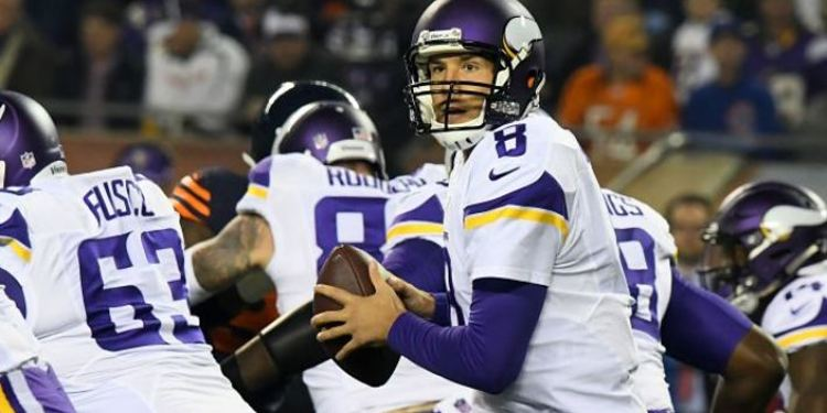 Minnesota Vikings  players in action
