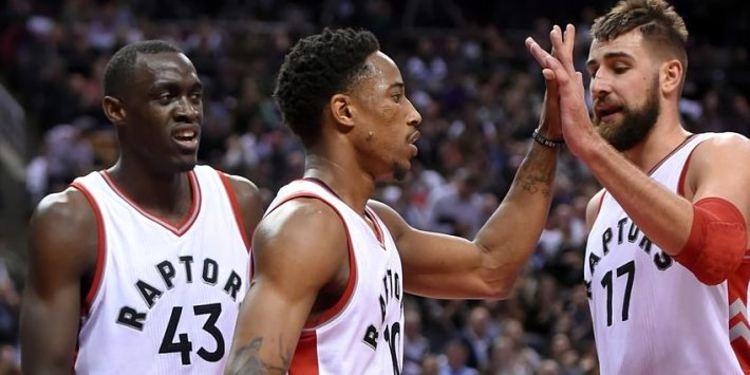 Toronto Raptors players in field
