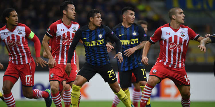 Southampton vs Inter Milan