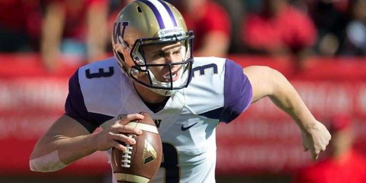 Jake Browning Running