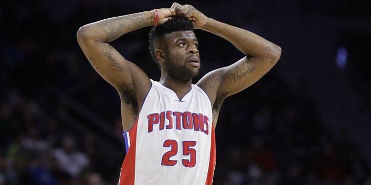 Pistons player Reggie Bullock