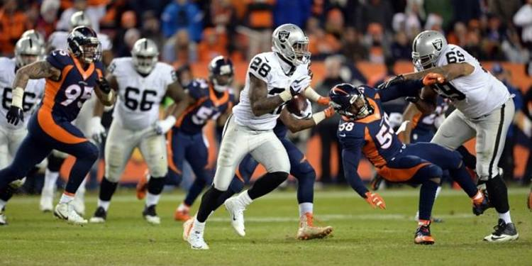 Denver Broncos vs. Oakland Raiders week 9