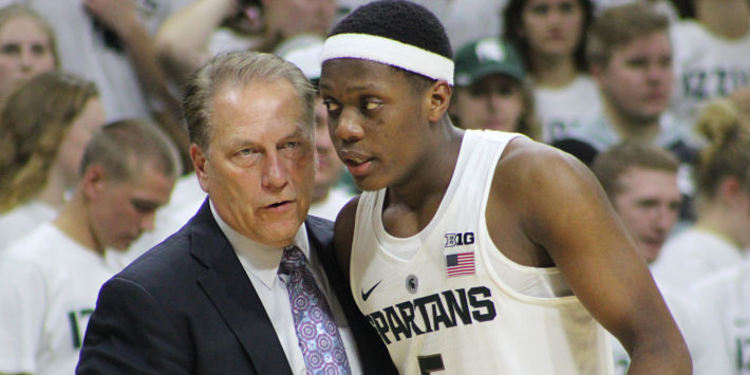 Tom Izzo HC Of Michigan State