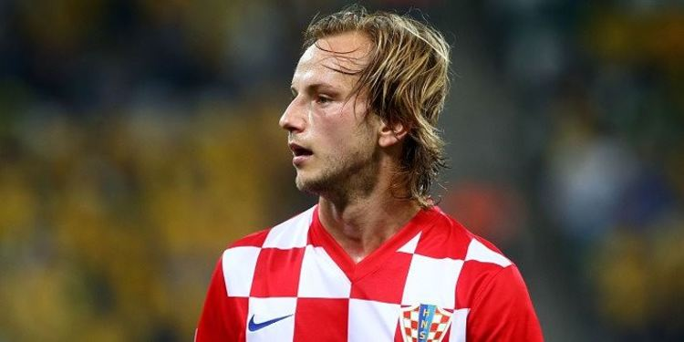 Ivan Rakitic Playing For Croatia