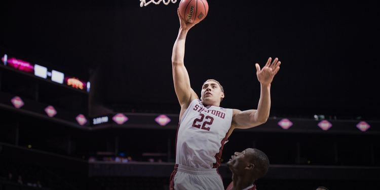 Stanford Cardinal player in action