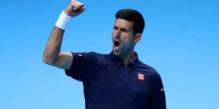 Tennis player Novak Djokovic