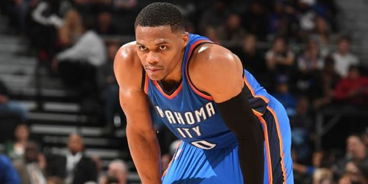 Thunder player Russell Westbrook