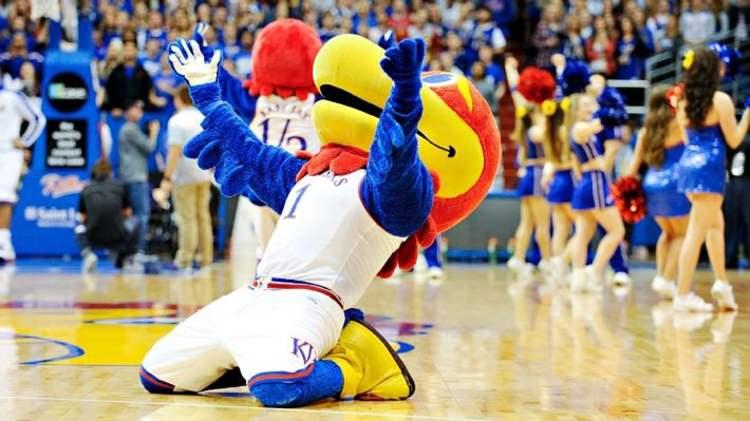 Kansas Jayhawks mascot