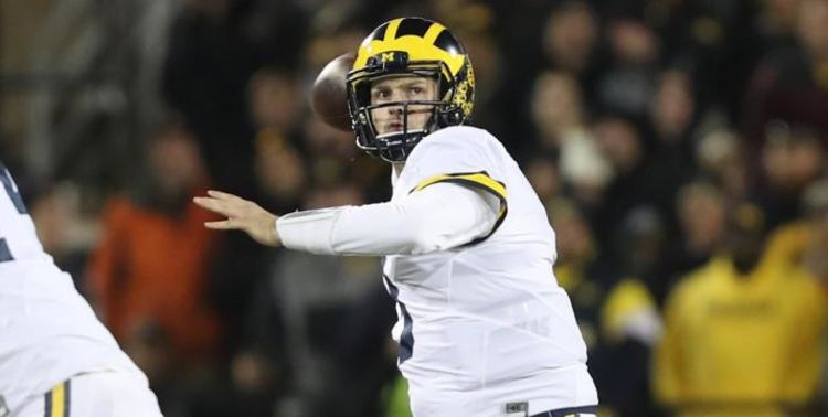 Wilton Speight Michigan football