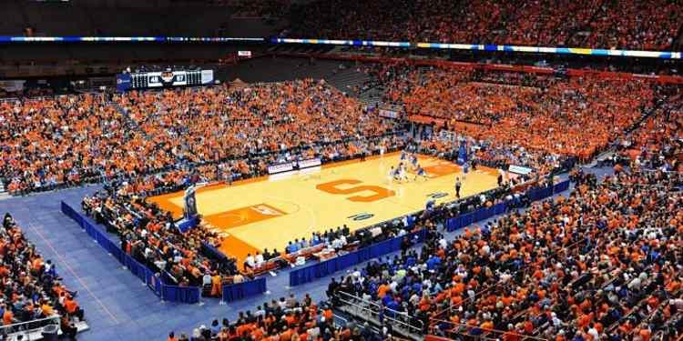 Syracuse Orange Court