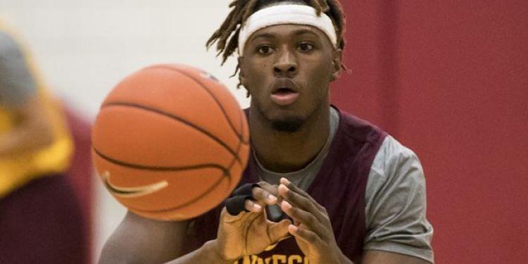 Minnesota player Akeem Springs