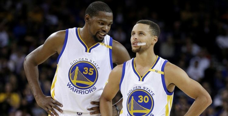 kevin durant steph curry warriors