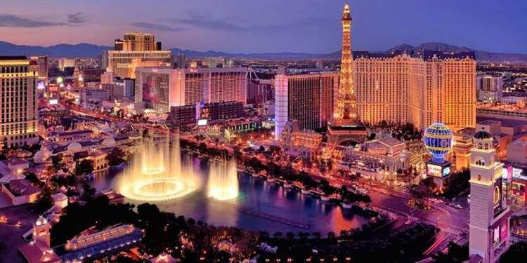 Las Vegas strips at night