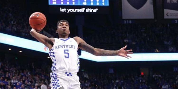 Kentucky Wildcats player