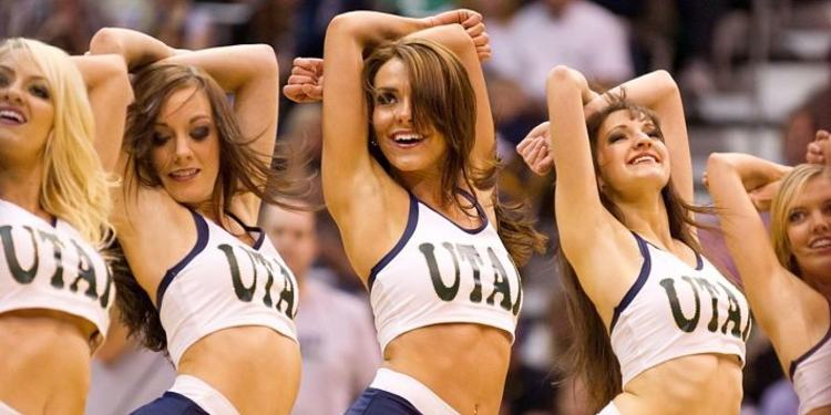 Utah Jazz Cheerleaders