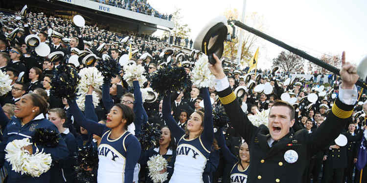 Navy Midshipmen Fans