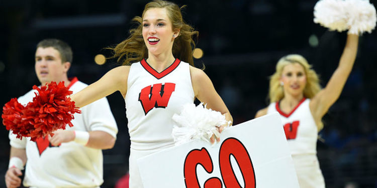 Wisconsin Badgers Cheerleaders
