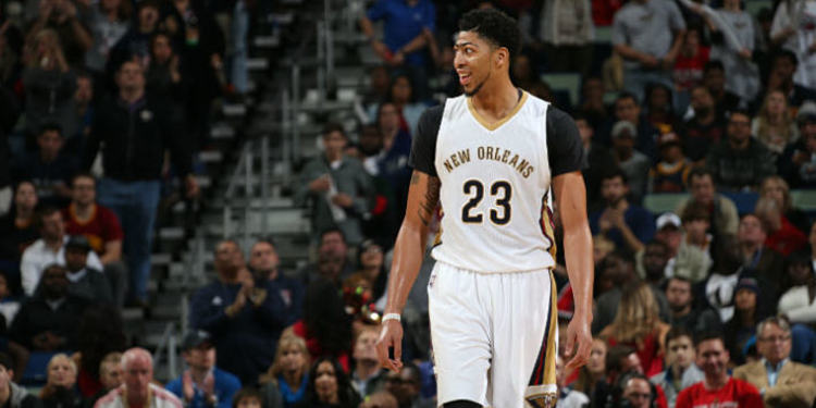 Pelicans player Anthony Davis