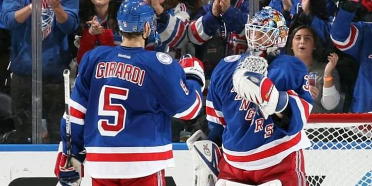 N.Y. Rangers players