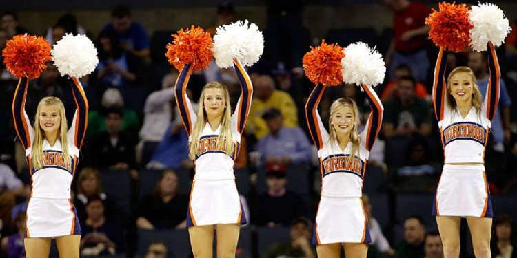 Virginia Cavaliers Cheerleaders