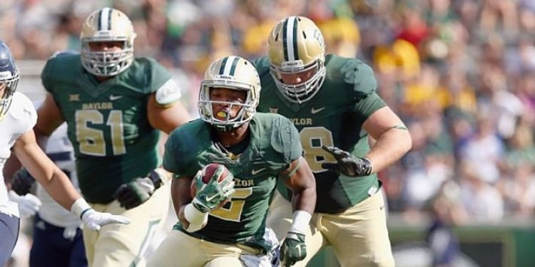 Baylor Bears players in action