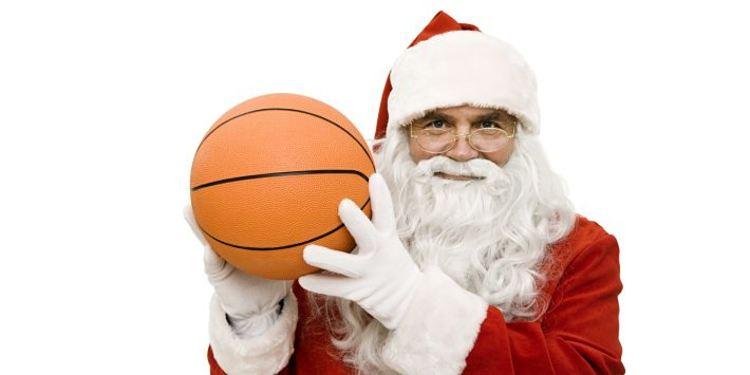 Basketball Santa