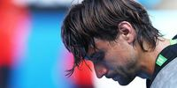 David Ferrer looking very dissapointed