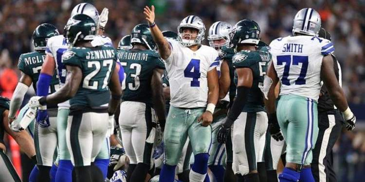 Dallas Cowboys vs Philadelphia Eagles game