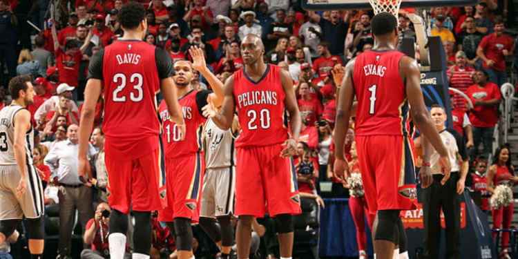 New Orleans Pelicans​​​​​​​ players