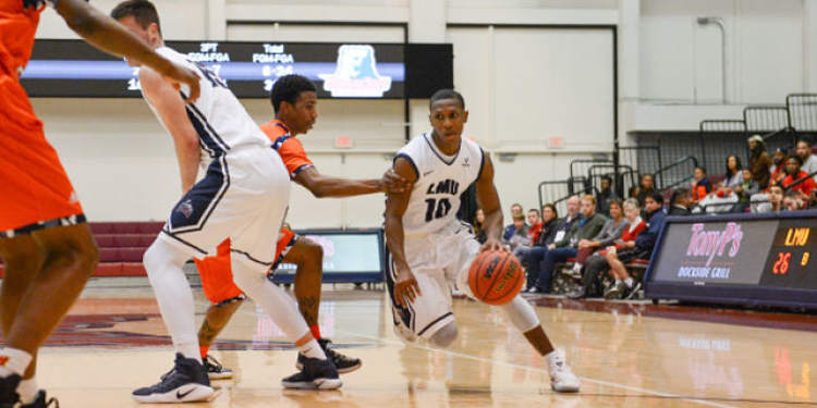 LMU players in action