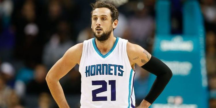 Charlotte Hornets player Marco Belinelli
