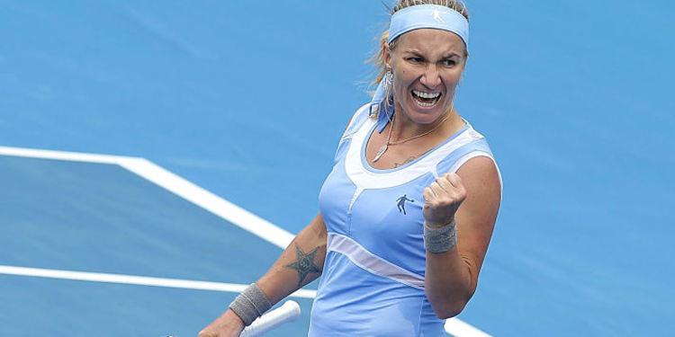 Tennis player Svetlana Kuznetsova