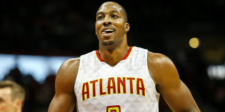NBA player Dwight Howard