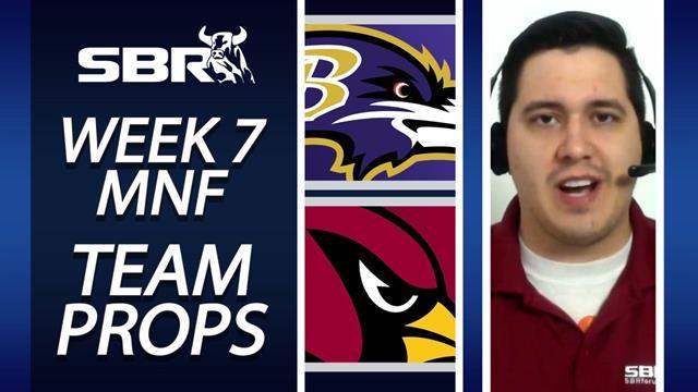 NFL Week 7 MNF Team Prop Pick
