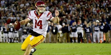 USC player Sam Darnold