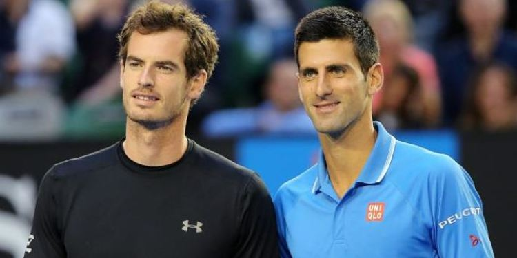 Novak Djokovic & Andy Murray