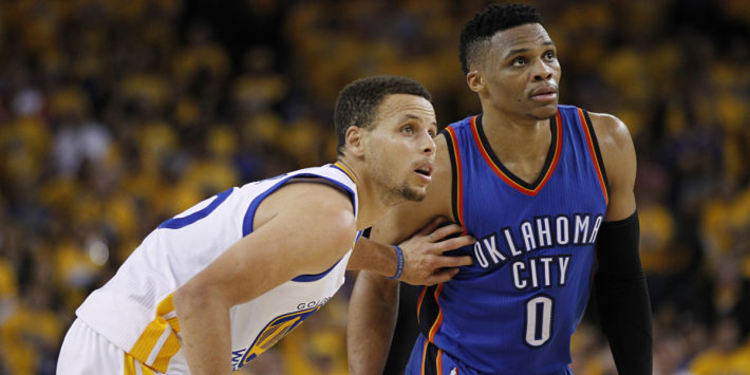 Steph Curry & Russell Westbrook