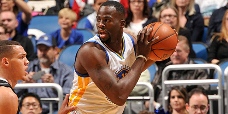Golden State Warriors player in action